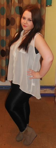 curvy girl outfit