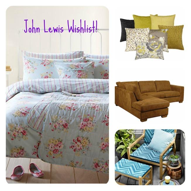 John Lewis Wishlist