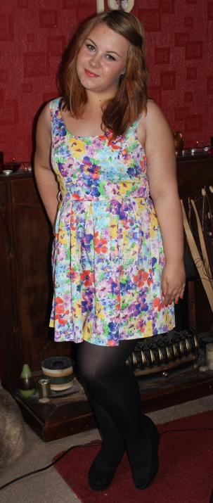summer outfit skater dress